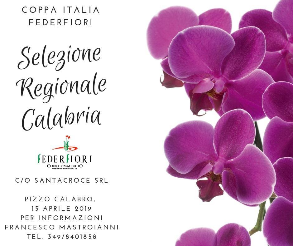 Selezione Regionale Coppa Italia Federfiori