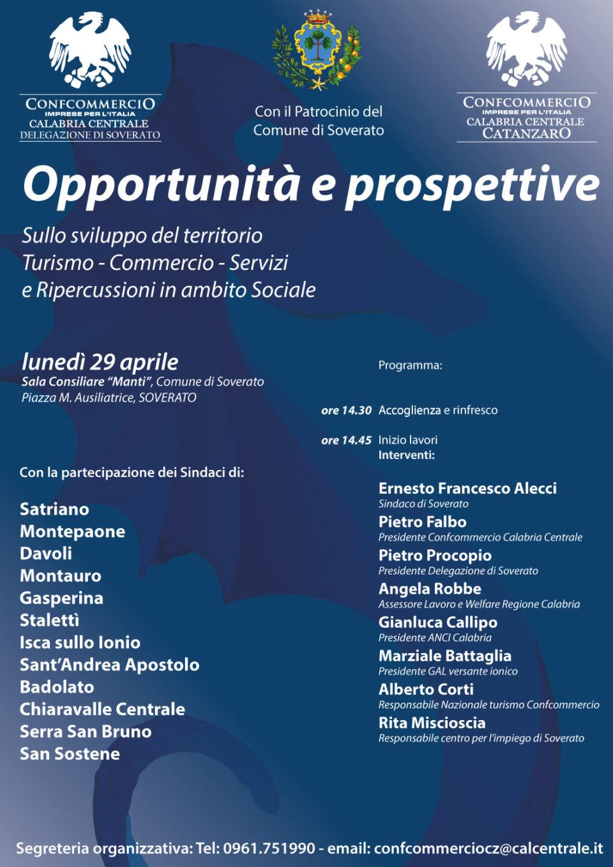 A Soverato, Convegno sulle opportunità e prospettive sullo sviluppo del territorio.