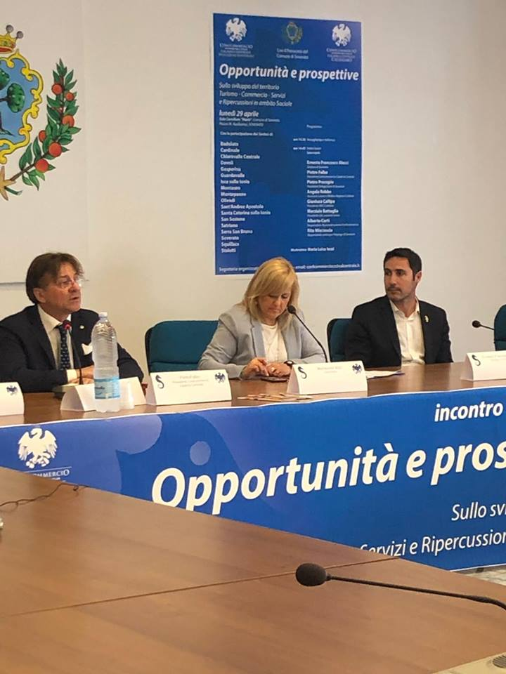 Convegno sulle opportunità e prospettive sullo sviluppo del territorio a Soverato