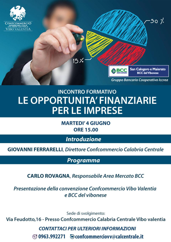 Incontro formativo Confcommercio Vibo- BCC