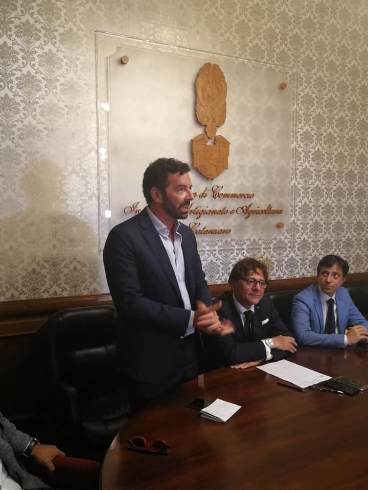 """Consegna del riconoscimento """"Impresa e Rappresentanza""""2019"""